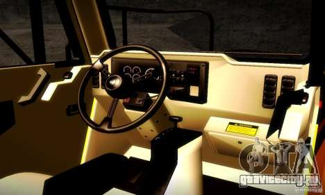 Caterpillar 777D для GTA San Andreas вид сбоку