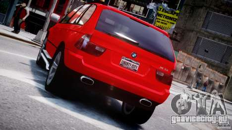 BMW X5 E53 v1.3 для GTA 4 колёса