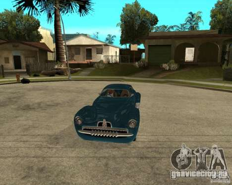 Holden Efijy для GTA San Andreas вид сзади