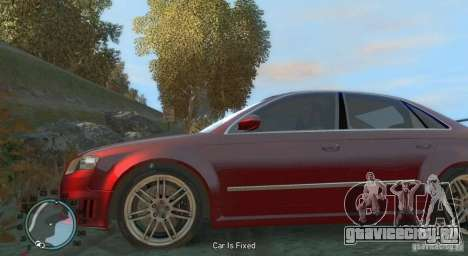 Audi RS4 Undercover v 2.0 для GTA 4 вид слева