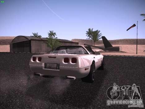 Chevrolet Corvette Grand Sport для GTA San Andreas вид справа