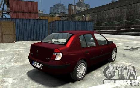 Renault Clio 1.4L для GTA 4 вид справа