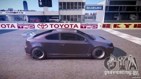 Toyota Scion TC 2.4 Tuning Edition для GTA 4 вид сбоку