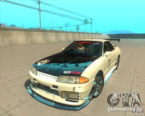 Nissan Skyline GT-R R32 1993 Tunable для GTA San Andreas