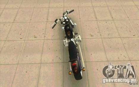 Днепр Зверь v2 Ольга для GTA San Andreas вид сбоку