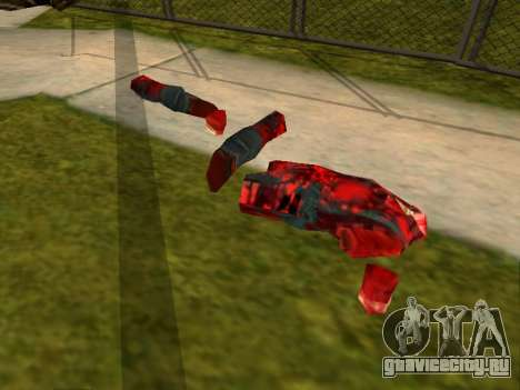 Резня бензопилой v.2.0 для GTA San Andreas третий скриншот