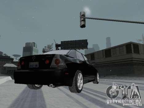 Lexus IS300 для GTA San Andreas вид сбоку
