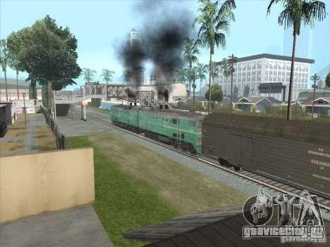 2ТЭ10В-3390 для GTA San Andreas вид слева