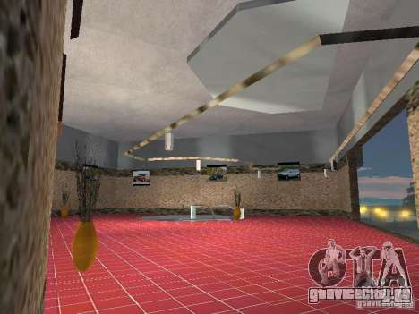 Автосалон ВАЗ для GTA San Andreas пятый скриншот