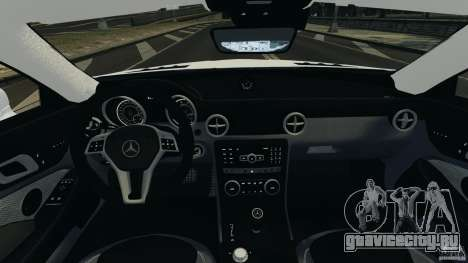 Mercedes-Benz SLK 2012 v1.0 [RIV] для GTA 4 вид сзади