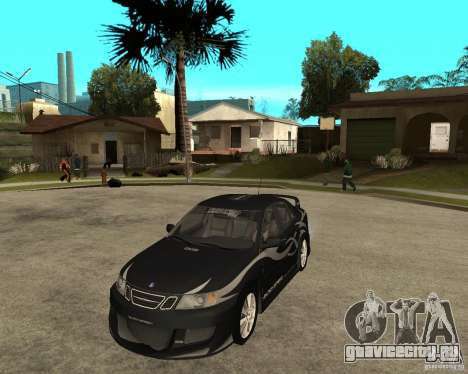 Saab 9-3 from GM Rally Вариант 1 для GTA San Andreas
