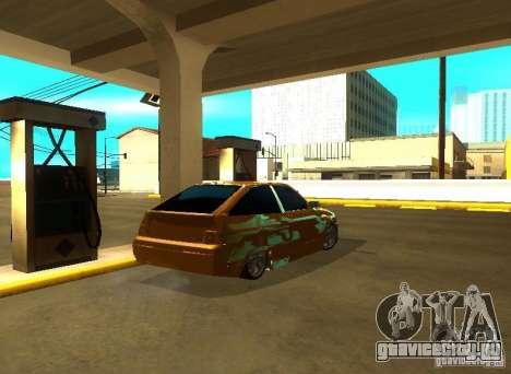 Ваз 2112 Tuning для GTA San Andreas вид слева