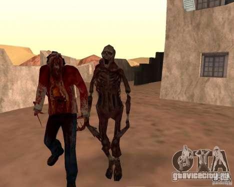 Zombie Half life 2 для GTA San Andreas девятый скриншот