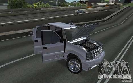 Cavalcade FXT из GTA 4 для GTA San Andreas вид справа