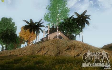 New Country Villa для GTA San Andreas шестой скриншот