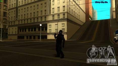 SWAT Officer для GTA San Andreas третий скриншот
