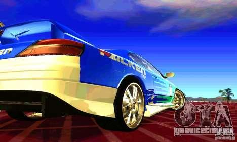 Nissan Silvia S15 8998 Edition Tunable для GTA San Andreas вид сбоку
