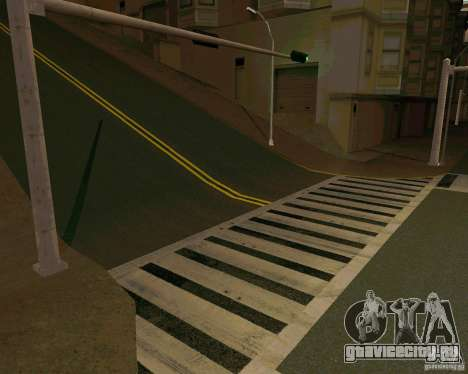 GTA 4 Roads для GTA San Andreas четвёртый скриншот