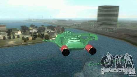 ThunderBird 2 для GTA Vice City вид справа