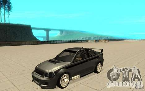 GTA IV Sultan RS FINAL для GTA San Andreas вид изнутри