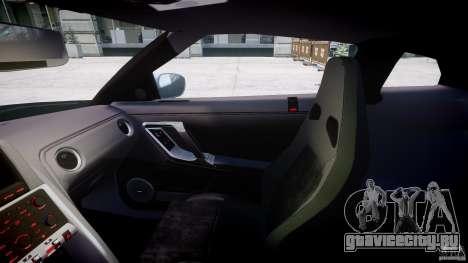 Nissan GT-R R35 2010 v1.3 для GTA 4 вид сзади