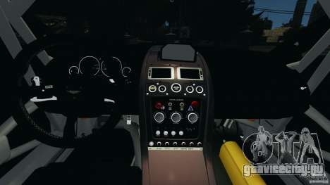 Aston Martin V12 Zagato 2011 v1.0 для GTA 4 вид сзади
