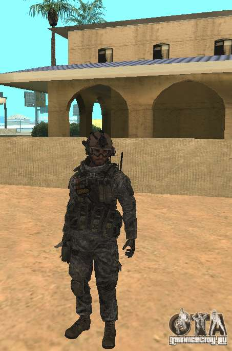 USA Army Ranger для GTA San Andreas