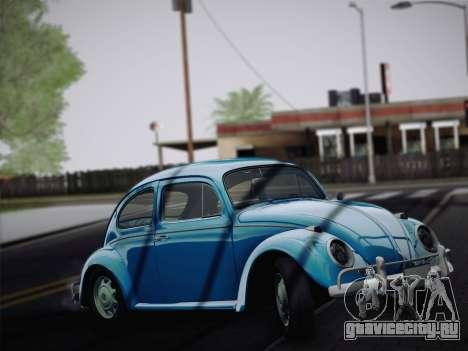 Volkswagen Beetle 1967 V.1 для GTA San Andreas вид слева