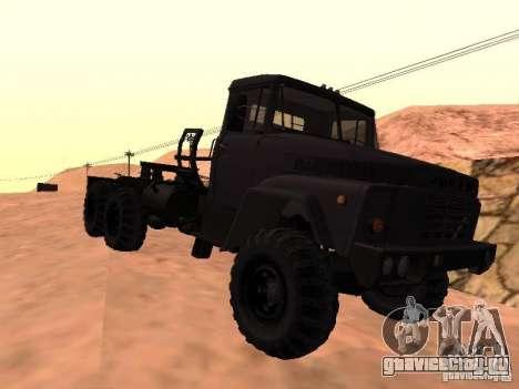 КрАЗ 260V для GTA San Andreas вид сзади слева