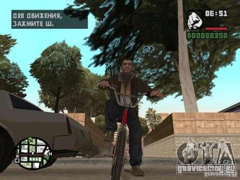 Niko Bellic для GTA San Andreas шестой скриншот