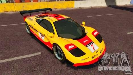 McLaren F1 для GTA 4 вид слева