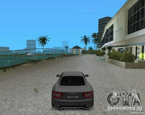 Maserati  GranTurismo для GTA Vice City вид слева