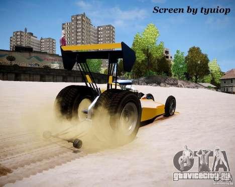 Ракетомобиль для GTA 4 вид сзади