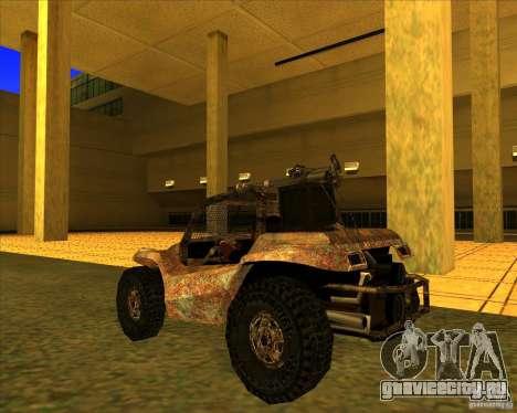 Desert Bandit для GTA San Andreas вид сзади слева