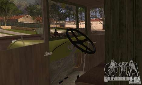 ЗИС-5 для GTA San Andreas вид сзади
