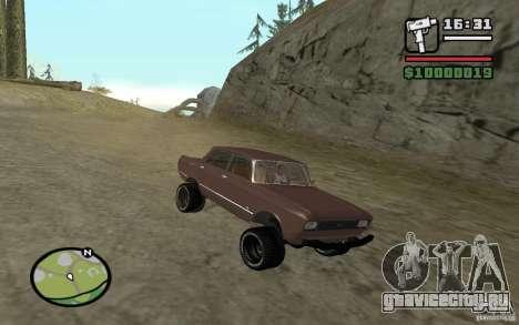 AZLK-2140 4x4 для GTA San Andreas.
