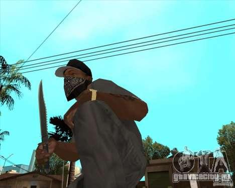 Rambo HD для GTA San Andreas второй скриншот
