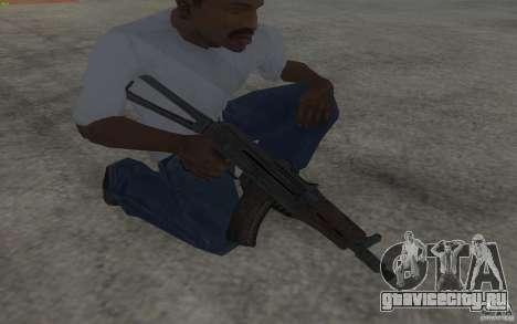 AKS-74U для GTA San Andreas третий скриншот