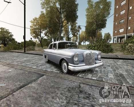 Mercedes-Benz W111 для GTA 4
