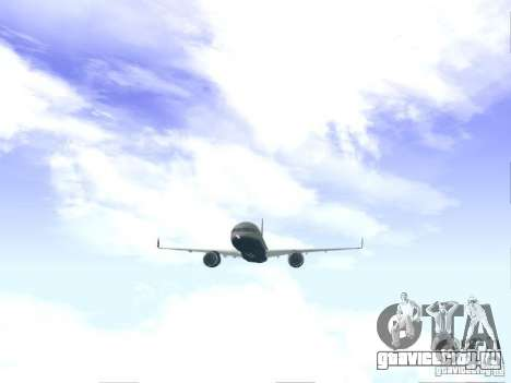 Boeing 757-200 United Airlines для GTA San Andreas вид справа