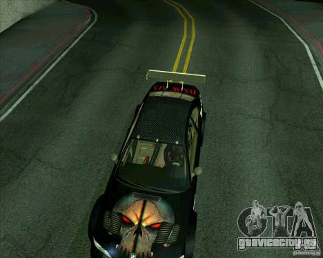 BMW M3 GTR Final для GTA San Andreas вид сзади слева