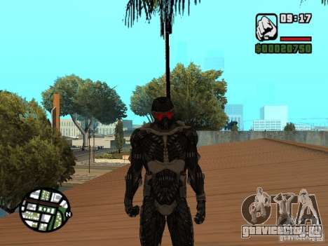 Crysis Nano Suit для GTA San Andreas