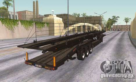 Прицеп-автовоз для GTA San Andreas
