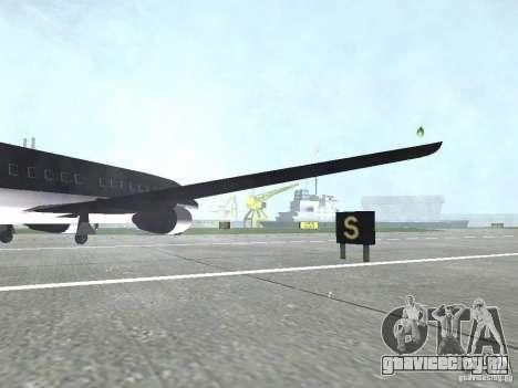 AT-400 во всех аэропортах для GTA San Andreas четвёртый скриншот