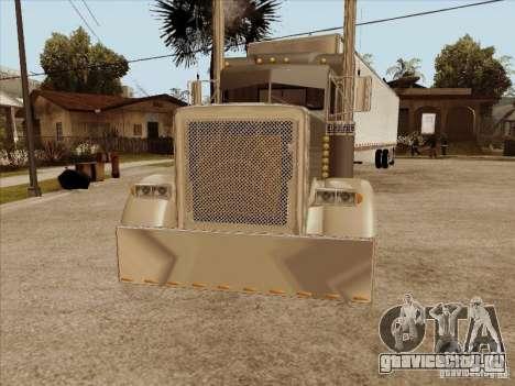 Peterbilt 379 Custom для GTA San Andreas вид слева