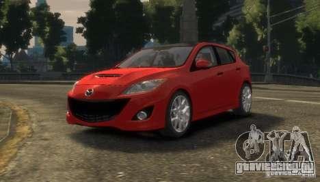 Mazda Speed 3 2010 для GTA 4