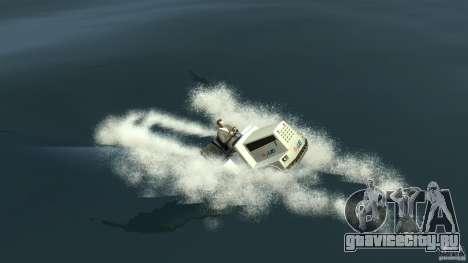 Airtug boat для GTA 4 вид сзади слева