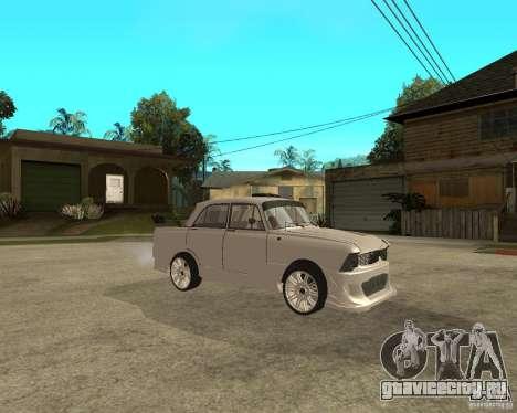 АЗЛК 412 tuned для GTA San Andreas вид справа