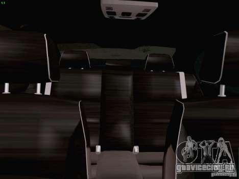 BMW M3 E90 Sedan 2009 для GTA San Andreas вид сбоку