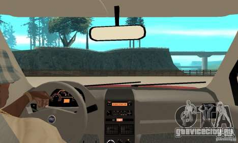 Fiat Siena HLX 1.8 Flex для GTA San Andreas вид справа